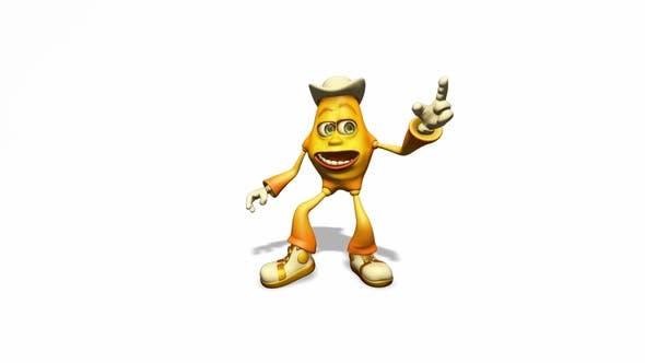 Thumbnail for Emoty 3d Man - Cartoon Dance 3