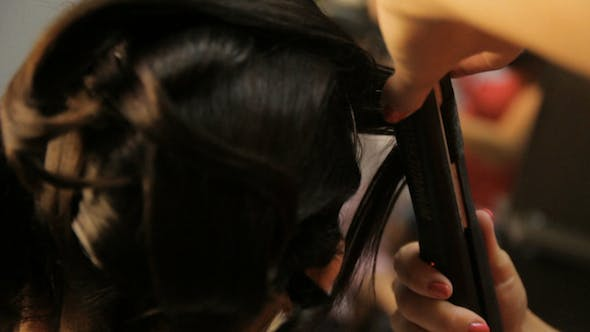 Hairstyle Wedding Slomotion