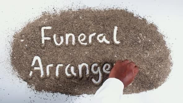 Thumbnail for Pepper Hand Writing   Funeral Arrangement