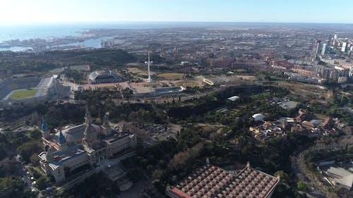 Catalunya National Art Museum and City of Barcelona, Spain