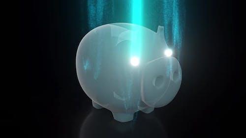 Digital Piggy Bank Hd