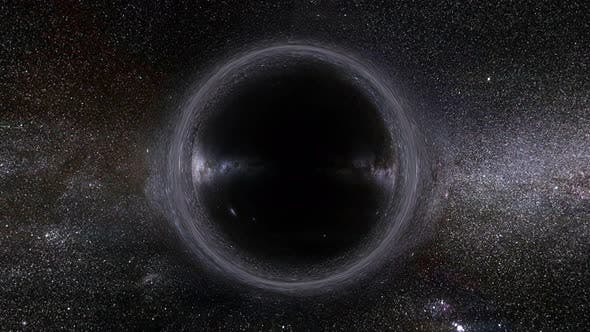 Thumbnail for Black Hole Orbiting Seamless Loop