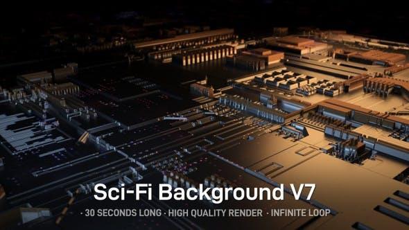Thumbnail for Sci-Fi Background V7
