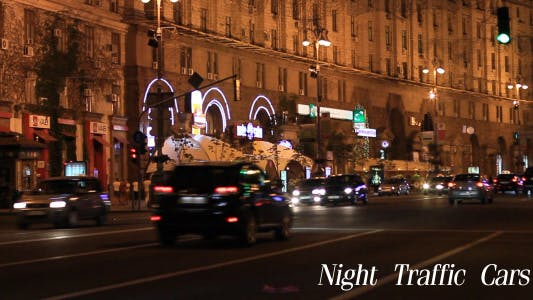 Cover Image for Night Traffic Cars 3