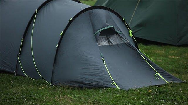 Tourist tent.