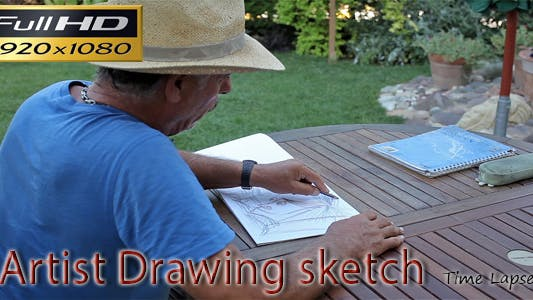 Thumbnail for Artist Drawing Sketch