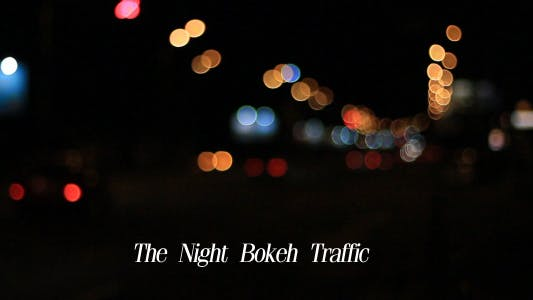 Cover Image for The Night Bokeh Traffic 6