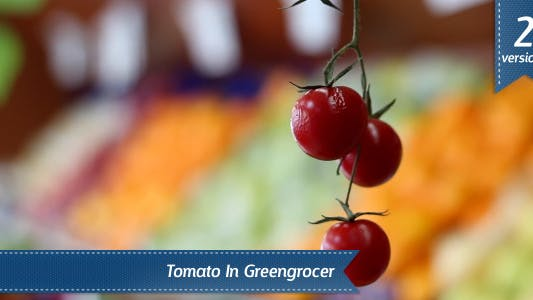 Tomato In Greengrocer