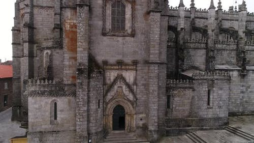 Main Entrance of Gothic Church