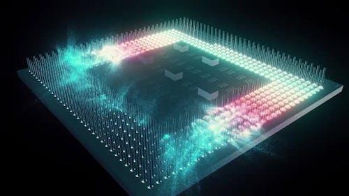 Zentralverarbeitungseinheit des CPU-Prozessors