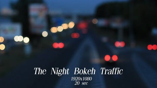 Cover Image for The Night Bokeh Traffic 9
