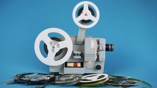 Viewing Movies On The Old Movie Projector 1.