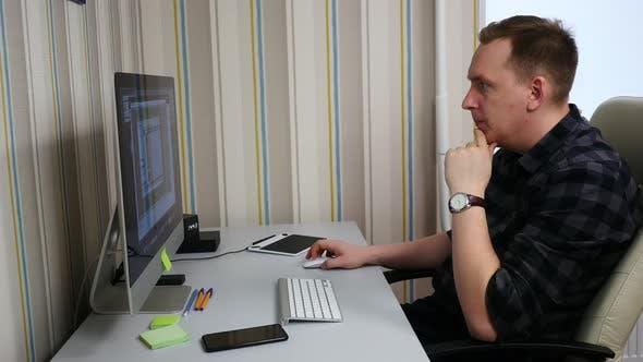 Thumbnail for Programmer In Office