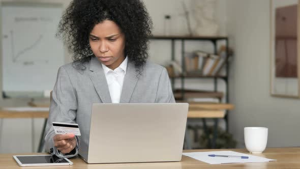 Thumbnail for Online Banking Failure, African Businesswoman