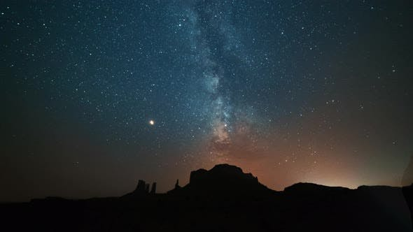 Thumbnail for Monument Valley, USA   The Milky Way