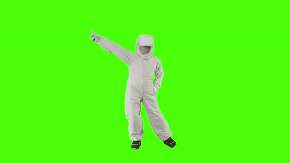 Thumbnail for Guy in the Spacesuit Is Dancing Funny