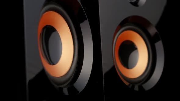 Thumbnail for Pumping Bass Speaker. Closeup