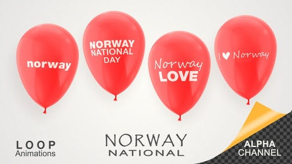Thumbnail for Norway National Day Celebration Balloons