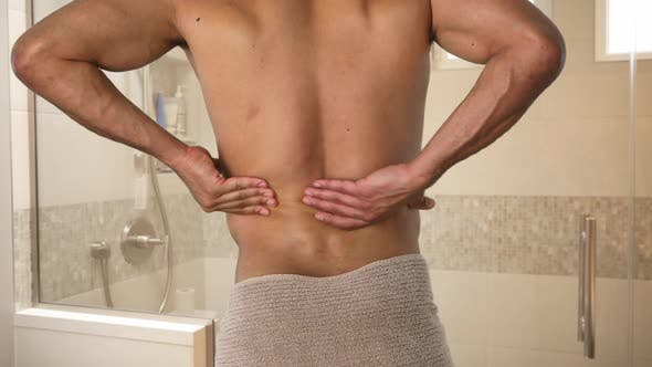 Thumbnail for Man with back pain