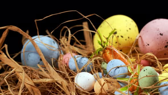 Thumbnail for Colorful Traditional Celebration Easter Paschal Eggs 27