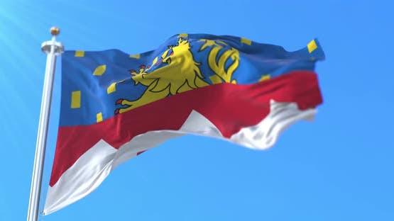 Flag of Jura, France