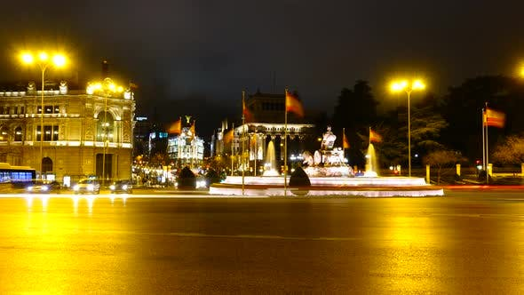 Thumbnail for Cibeles Fountain in Madrid 2