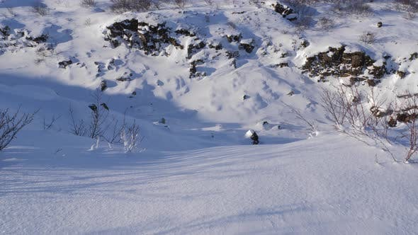 Thumbnail for Iceland View Of Snow Covered Valley 1