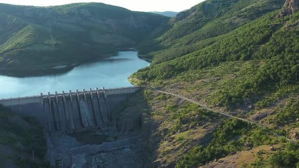 Dam Aerial View 4