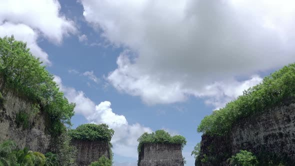 Thumbnail for Clouds over Strange Rocks