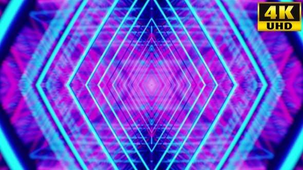 Thumbnail for Retrowave Kaleidoscope Vj Loops Pack V1