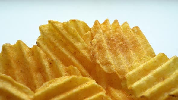 Thumbnail for Rotation Fluted Potato Chips With Spices 2