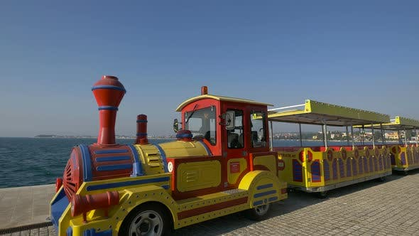 Thumbnail for Recreation train by the sea