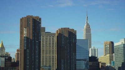 Buildings near the Empire State Building
