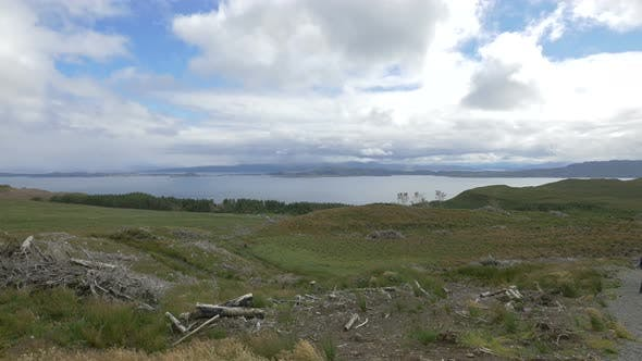 Thumbnail for Brushwood on coastline hills