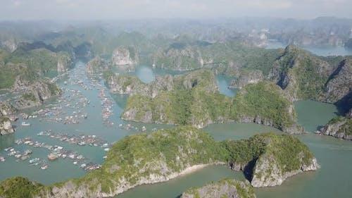Floating Village of Cat Ba Island