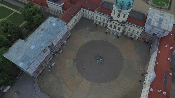 Thumbnail for Aerial of Charlottenburg Palace's square