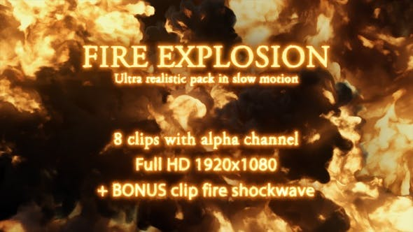 Fire Explosion Pack