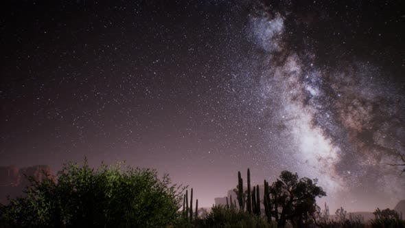 Thumbnail for The Milky Way Above the Utah Desert, USA