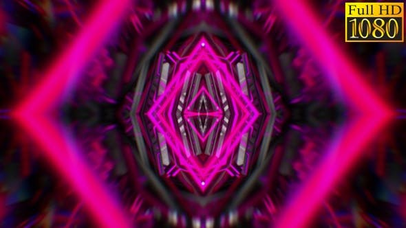Thumbnail for Abstract Kaleidoscope Vj Loops V8