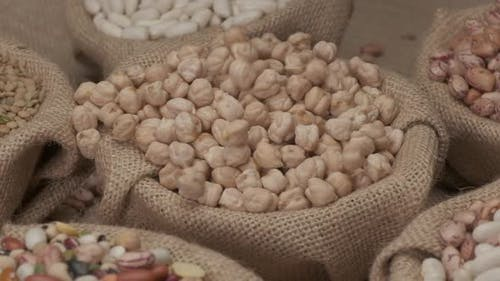 Dry Chickpeas Legumes