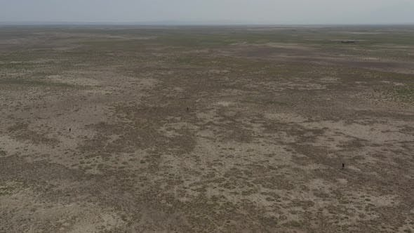 Thumbnail for Vast Plains And People Aerial View