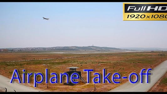Cover Image for Airplane Take-Off