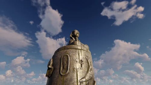 Esfinge Ancient Egypt Statue