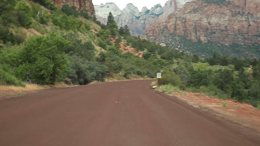 Thumbnail for Drive at Zion National Park park 01 Full HD