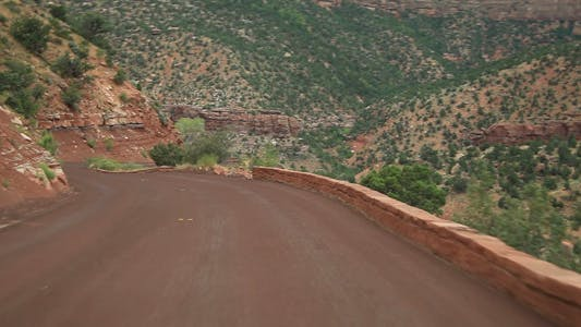 Drive at Zion National Park park 02 Full HD