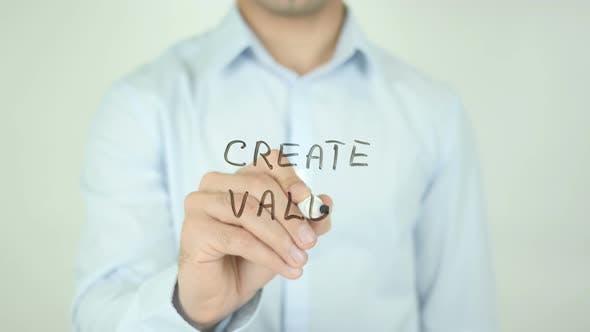 Thumbnail for Wert schaffen, Schreiben auf dem Bildschirm