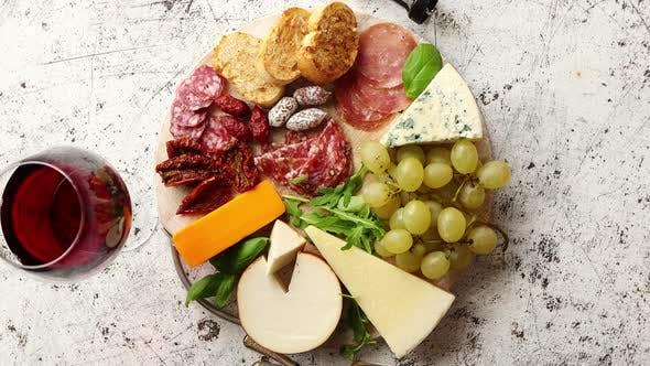 Thumbnail for Assortment of Spanish Tapas or Italian Antipasti