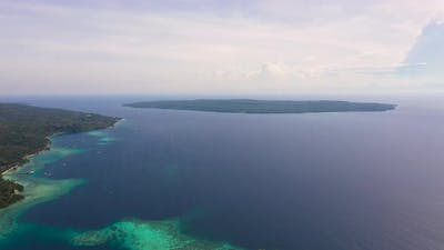 Tropical Island of Samal and Talikud Island