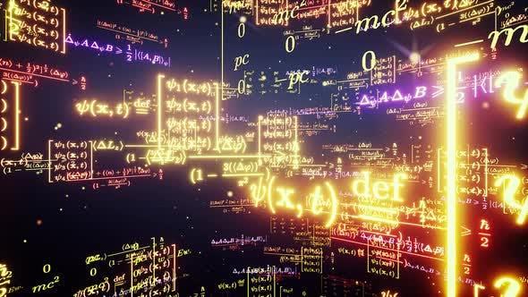 Thumbnail for Math Formulas 4k