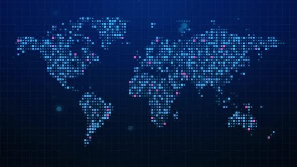 Thumbnail for Digital World Map
